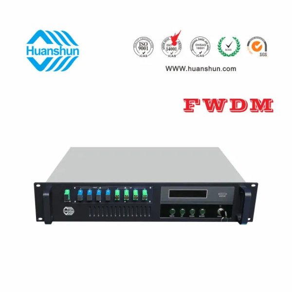 Huanshun 4 X Pon and CATV EDFA with 16-23dBuv