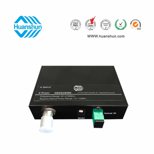 Common CATV Satellite Intermediate Frequency Optical Receiver